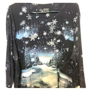 🦋 Holiday Editions Let It Snow 3X Women's Top